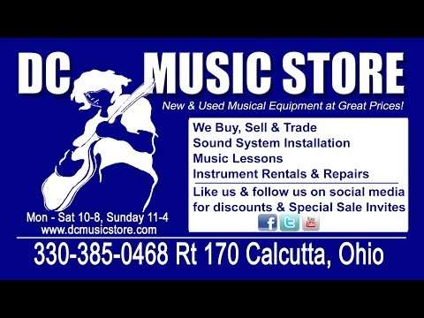 DC Music Store Video Commercial