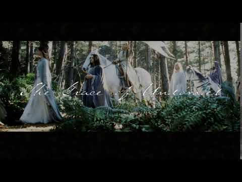♫ Lord of the Rings   The Grace of Undómiel with lyric