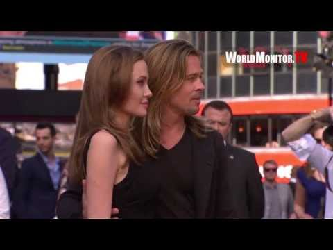 'World War Z' World premiere arrivals  Angelina Jolie, Brad Pitt, Daniella Kertesz