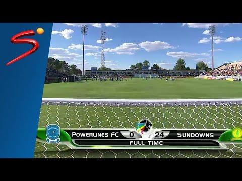 Powerlines F.C. 0-24 Mamelodi Sundowns 2nd Half