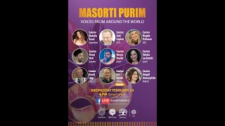 Masorti Purim Day 2: Hazzanim from around the world join for a musical performance