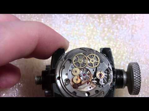 How I take apart a water damaged wrist watch, Gruen Precision Autowind