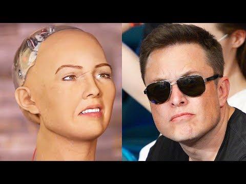 Elon Musk vs The World's First Robot Citizen in Twitter War! (Muskwatch w/ Kyle Hill & Dan Casey)