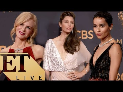 ET LIVE: The BIGGEST Fashion Moments From The 2017 Emmys Red Carpet!