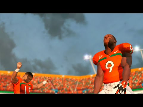 NCAA Football 14 Season 2016 2016 Florida Atlantic Owls vs Miami Hurricanes