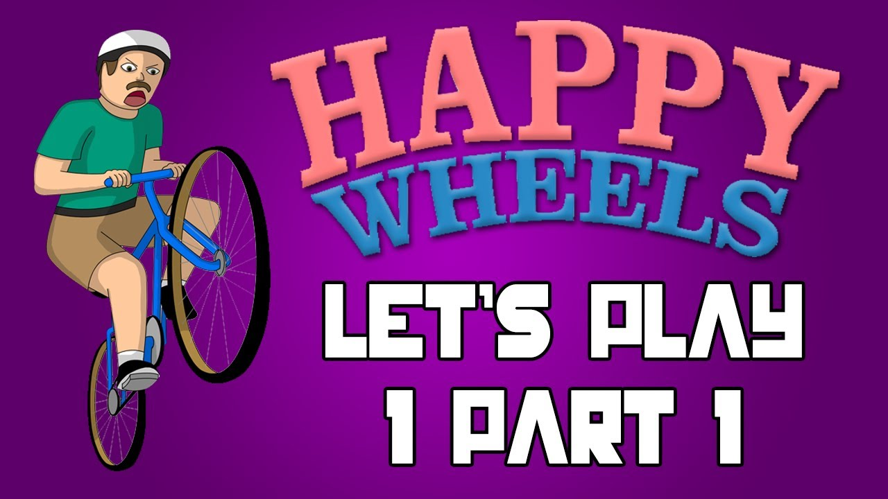 Happy wheels let 39 s play 1 pt 1 too many explosions - Let s play happy wheels ...