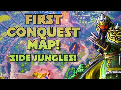 SMITE BETA CONQUEST MAP! Made Playable By Whisky Wyrm & Twilightsparkul