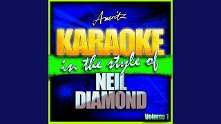 Brooklyn Roads (In the Style of Neil Diamond) (Karaoke Version)