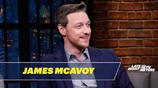 James McAvoy Really Admires Samuel L. Jackson