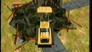 Matchbox Caterpillar Construction Zone PC Commercial