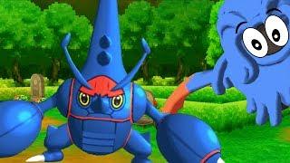 Mega Heracross The DESTROYER - Pokemon SUN and MOON WiFi Battle #83: 6fthax VS tacebreeze (1080p)
