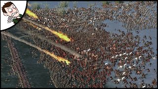 MASSIVE 18000 MAN BATTLE OF THE TRIDENT - Seven Kingdoms Total War Gameplay (Attila Mod)
