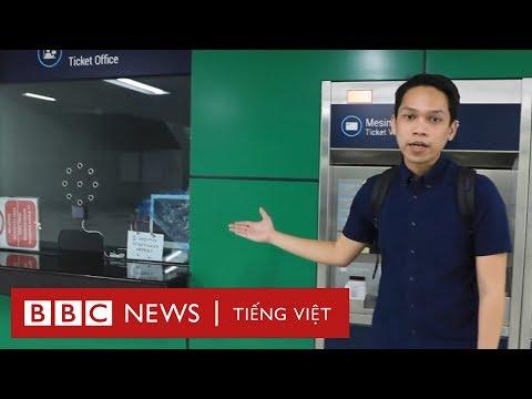 Metro mới của Jakarta có nhanh hơn xe máy? BBC News Tiếng Việt