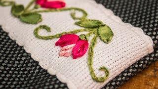 Bordado a mão – Pontos decorativos fáceis de fazer
