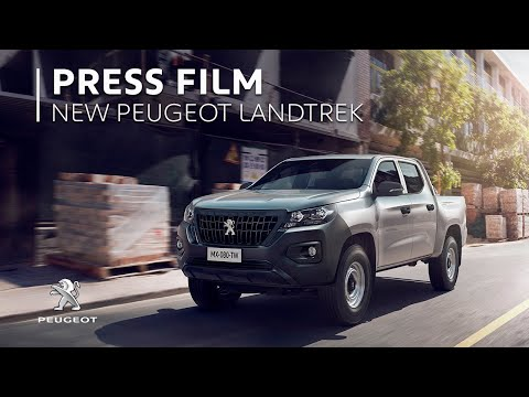 Peugeot LANDTREK Workhorse pick-up – #LiveBigger
