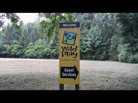 WildPlay At Maple Ridge, BC Canada (tree Climbing & Zip Lining)