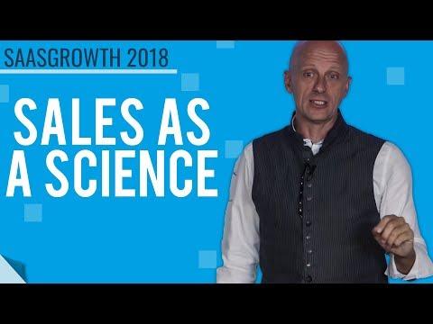 Winning By Design - Jacco vanderKooij, Founder of Sales As A Science #SaaSGrowth2018