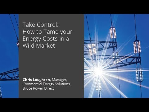 Take Control: How to Tame your Energy Costs in a Wild Market