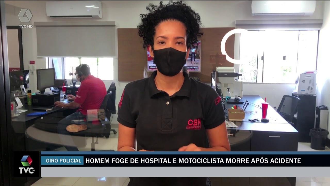 Três lagoense foge de hospital na capital
