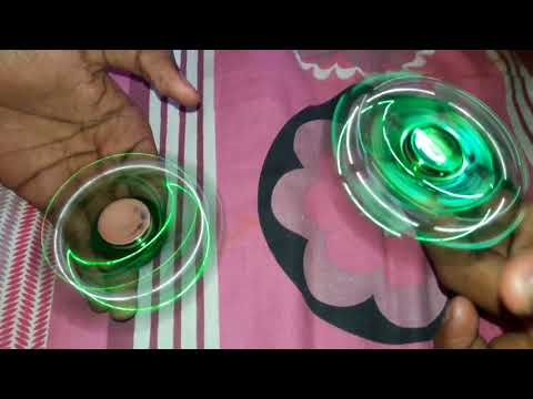 Duration of fidget spinner of same rate