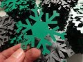 Formica Snowflakes: Custom Christmas Tree Ornaments