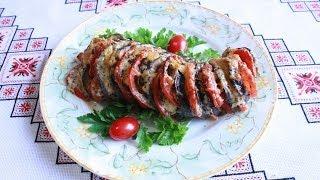Баклажаны рецепты с помидорами и сыром Блюда из баклажанов Баклажаны в духовке Баклажани Синенькие