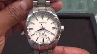 grand seiko spring drive snowflake ref sgba011 watch review