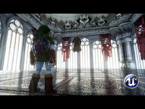 Unreal Engine 4  Ganondorf Fight  Zelda: Ocarina of Time WIP4.15