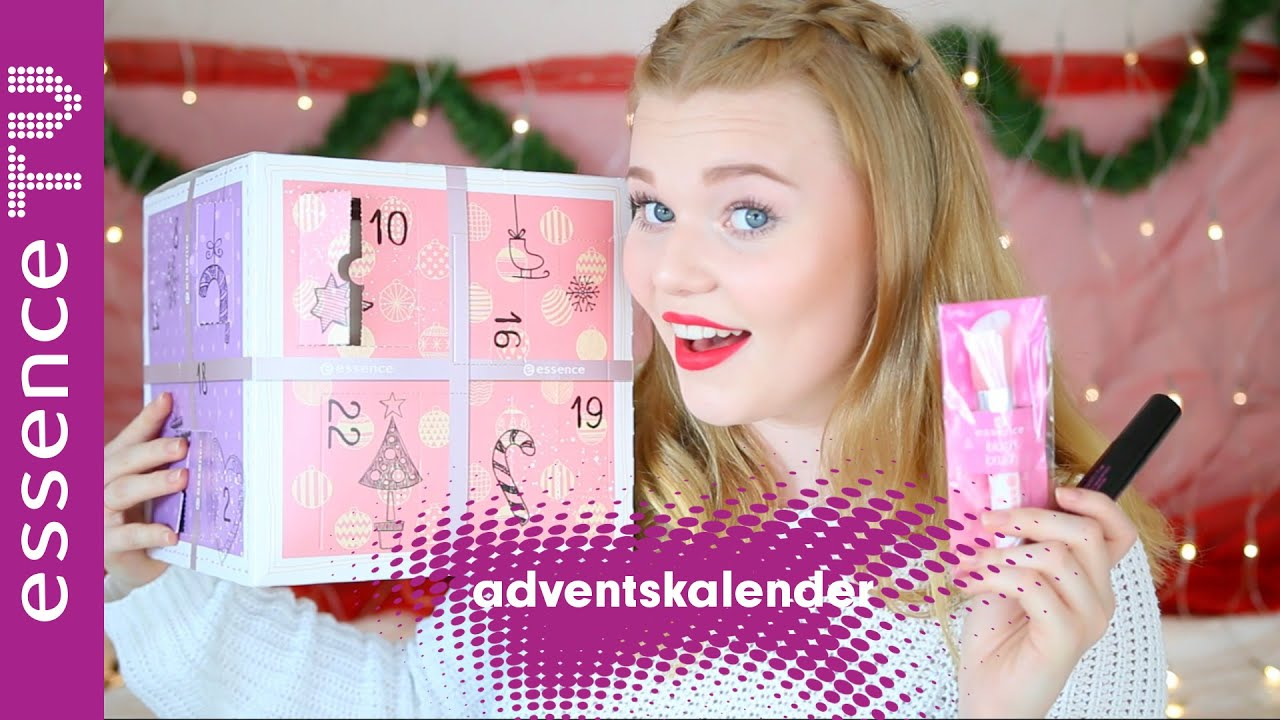 essence adventskalender 2016 unboxing originalprodukte. Black Bedroom Furniture Sets. Home Design Ideas