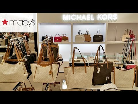 Shop With ME MACY'S DESIGNER HANDBAGS COACH DKNY MICHAEL KORS 2018