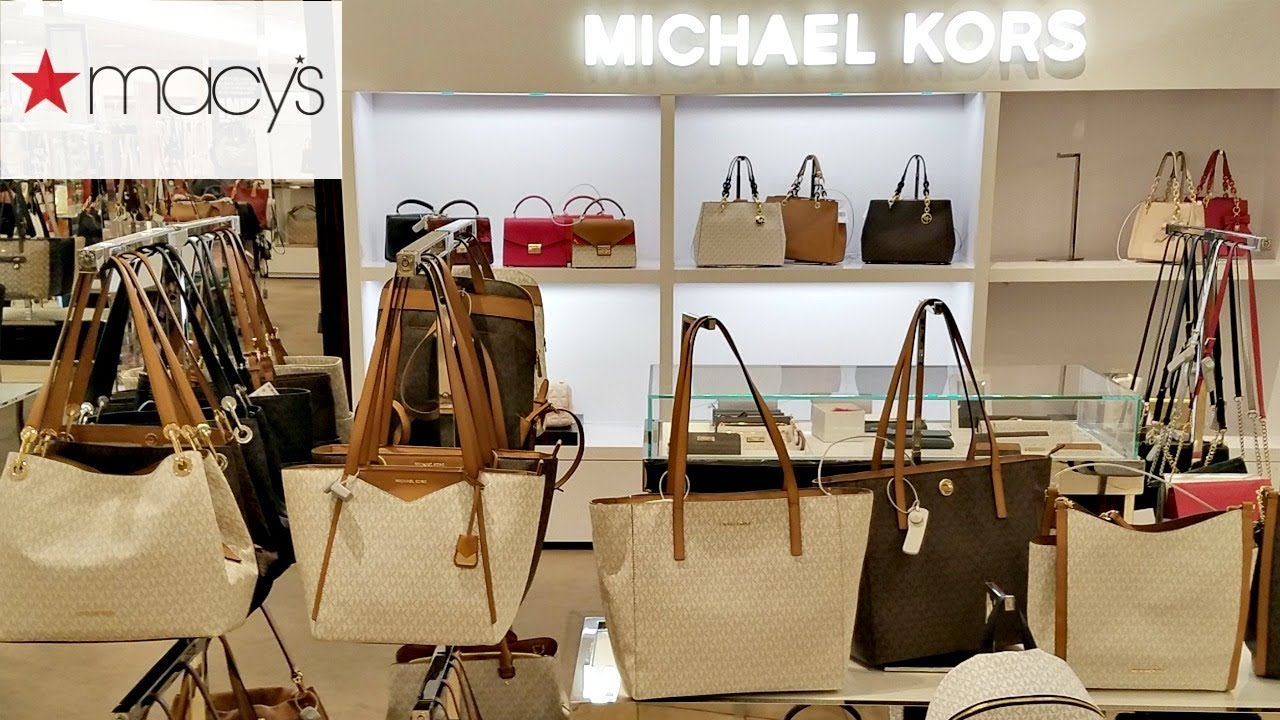 d1112d15e2f8 Shop With ME MACY S DESIGNER HANDBAGS COACH DKNY MICHAEL KORS 2018 ...