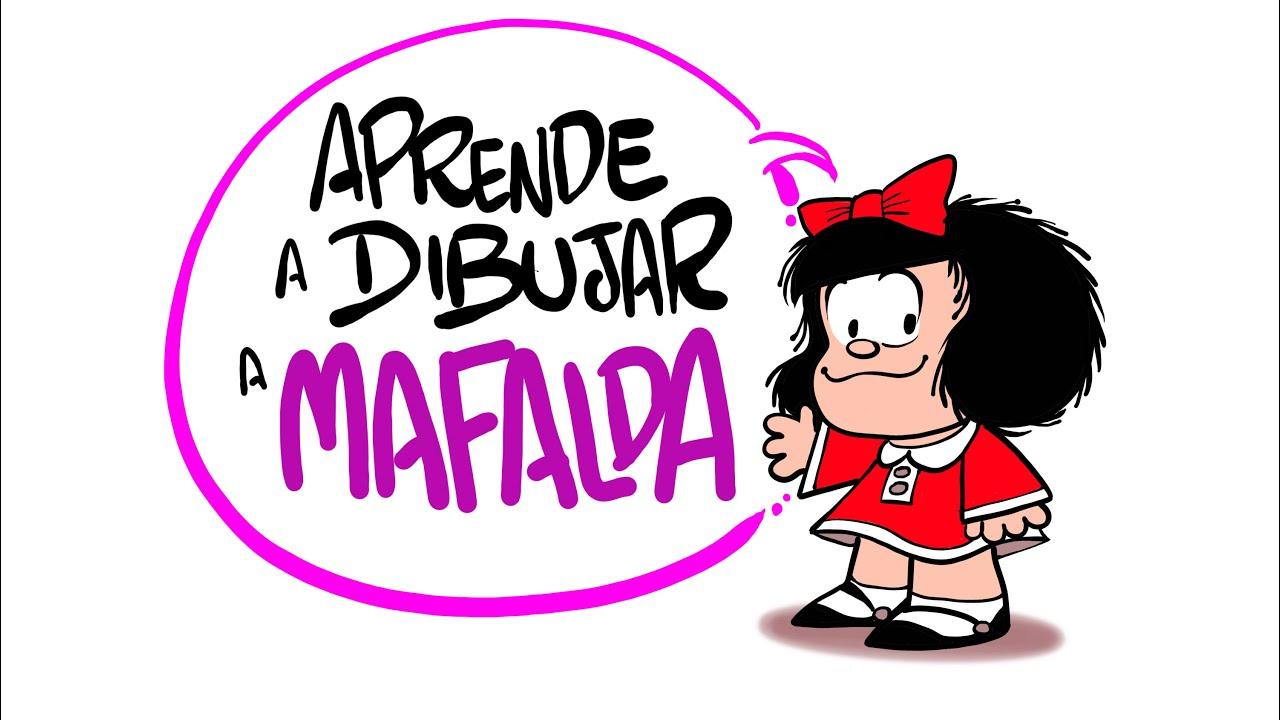 DIBUJA A MAFALDA