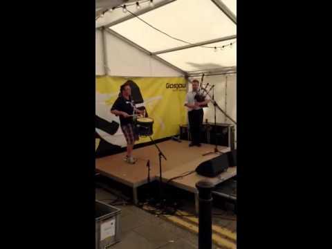 Stuart Liddell and Steven McWhirter Pipes|Drums Pipe Major