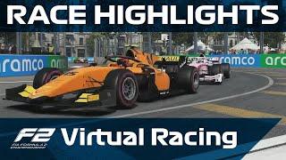 F2 Virtual Racing, Round 4 Highlights | Baku