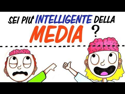 Sei più INTELLIGENTE della MEDIA?