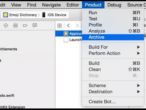 xcode 7 archive disabled - How to fix it? | generic xcode archive xcode 7