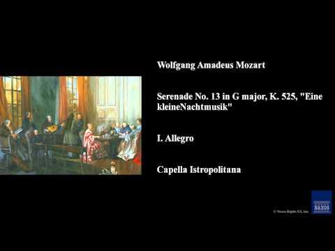 Wolfgang Amadeus Mozart, Serenade No. 13 in G major, K. 525,