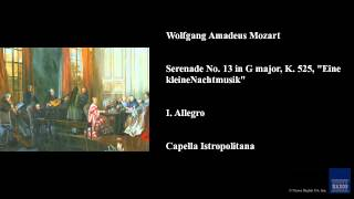 Wolfgang Amadeus Mozart Serenade No 13 in G major
