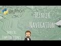 Navigation using Tkinter [Python]