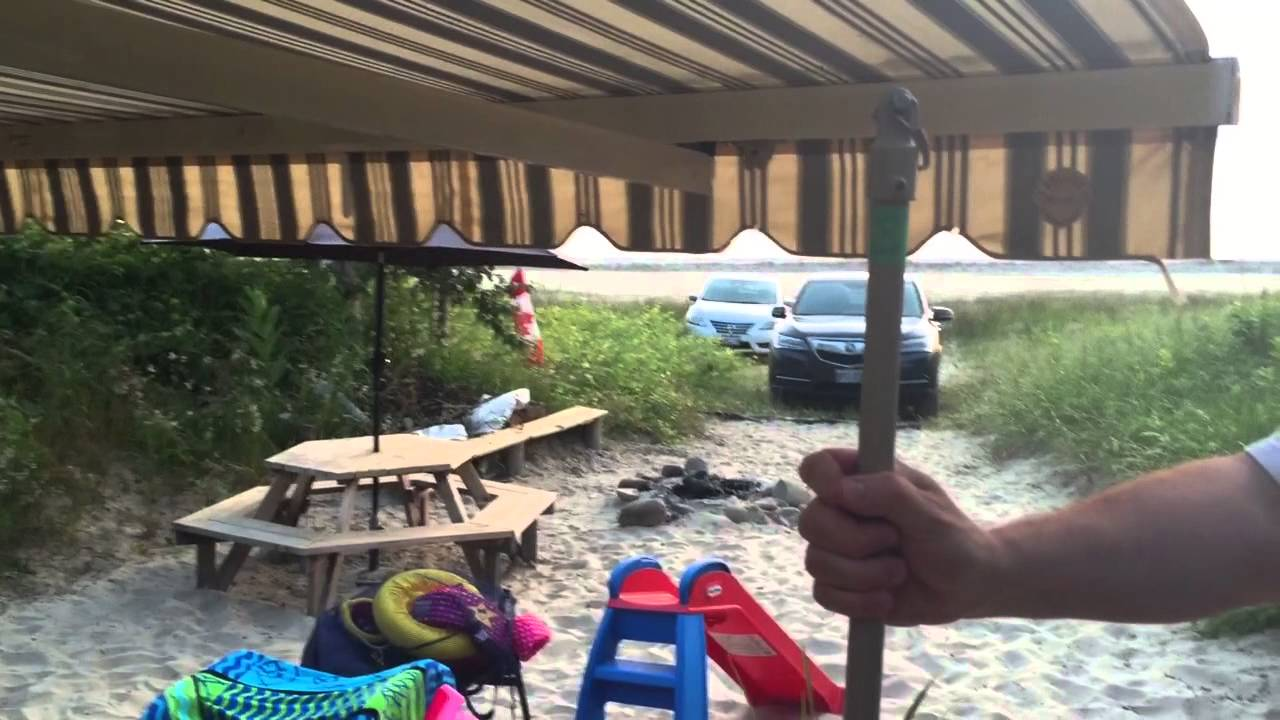 Awning poles - YouTube