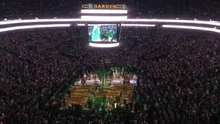 2017-2018 Boston Celtics Intros w/Special Message from Gordon Hayward