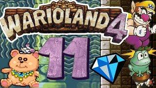 Let's Play Wario Land 4 Part 11: Geldgeil in der goldenen Pyramide