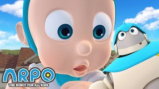 Arpo the Robot | Daniel turns into a Giant! | COMPILATION | Best Moments | Funny Cartoons for Kids