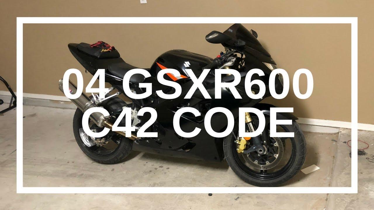 2004 Suzuki Gsxr600 C42 Code , Solved (for me ) Tips #STACKZzHOUSE