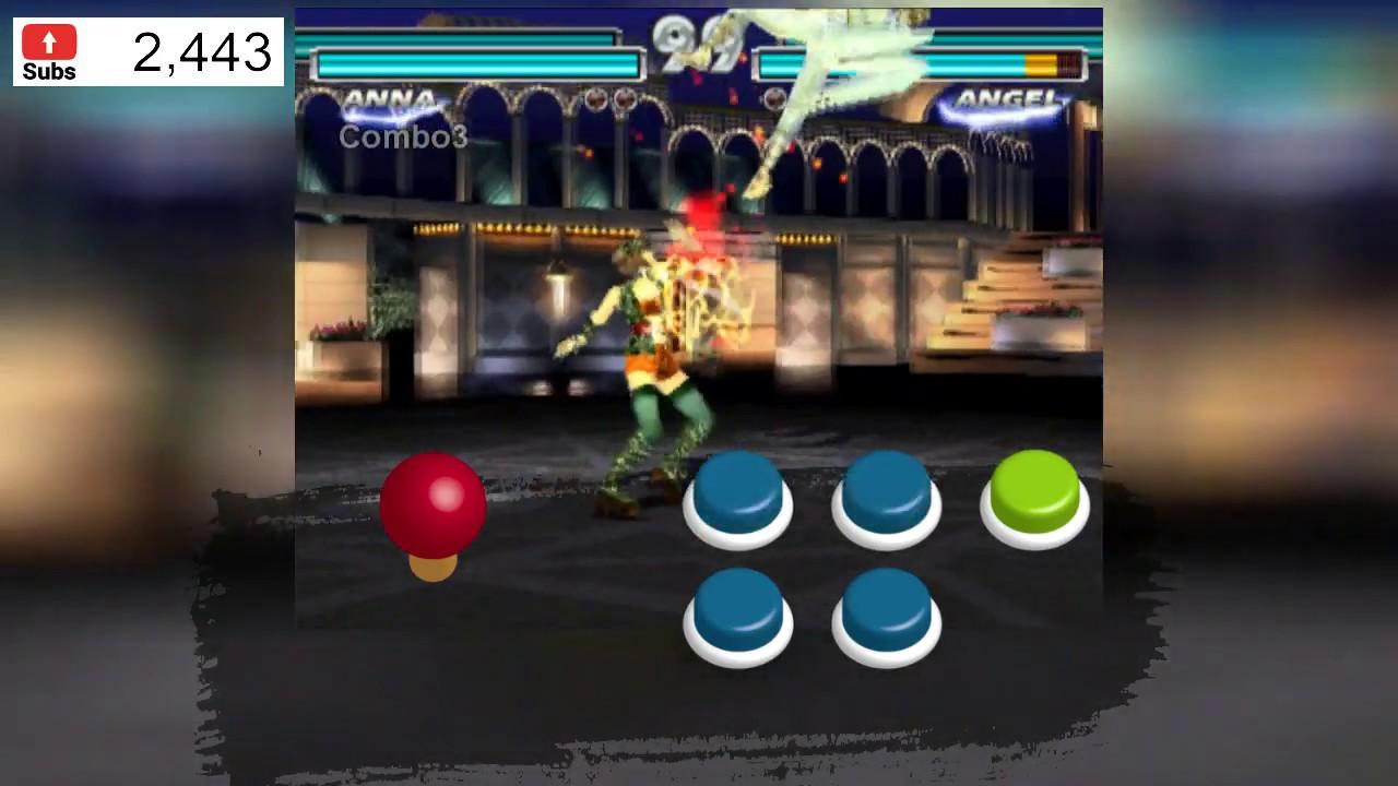 Tutorial Tekken Tag parte 14 - Combos - Anna