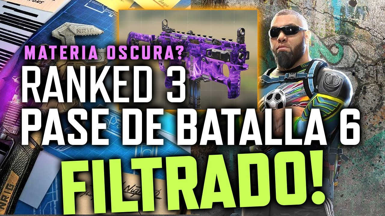 RANKED 3 y FILTRACIONES DE ARMAS LEGENDARIAS Y PASE! + EL LOBBY NUEVO! | Call of Duty Mobile