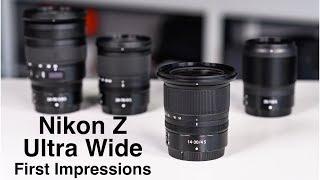 Nikon 14-30mm f/4 S Ultra Wide for Z6 / Z7! First Impressions
