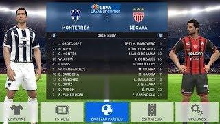 PES 2017 | Monterrey vs Necaxa | Jornada 8 Liga Mx | Gameplay PC