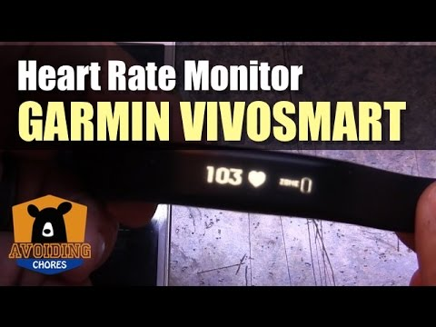 Garmin Vivosmart - How To Setup Heart Rate Monitor
