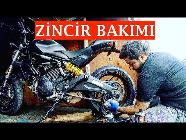 Motosiklet Zincir Temizliği ve Yağlama